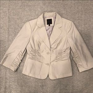 The Limited Ruched Blazer